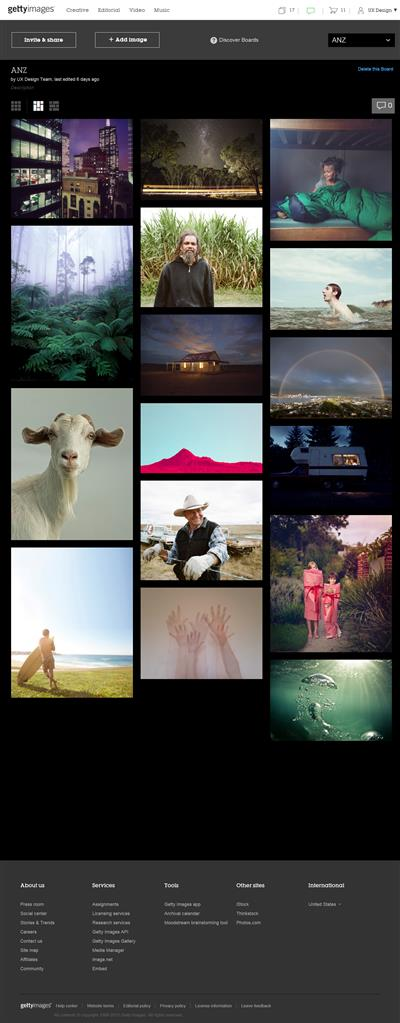 Getty Images unveils innovative collaboration tool, Boards, and updated iOS app to empower the creative industry