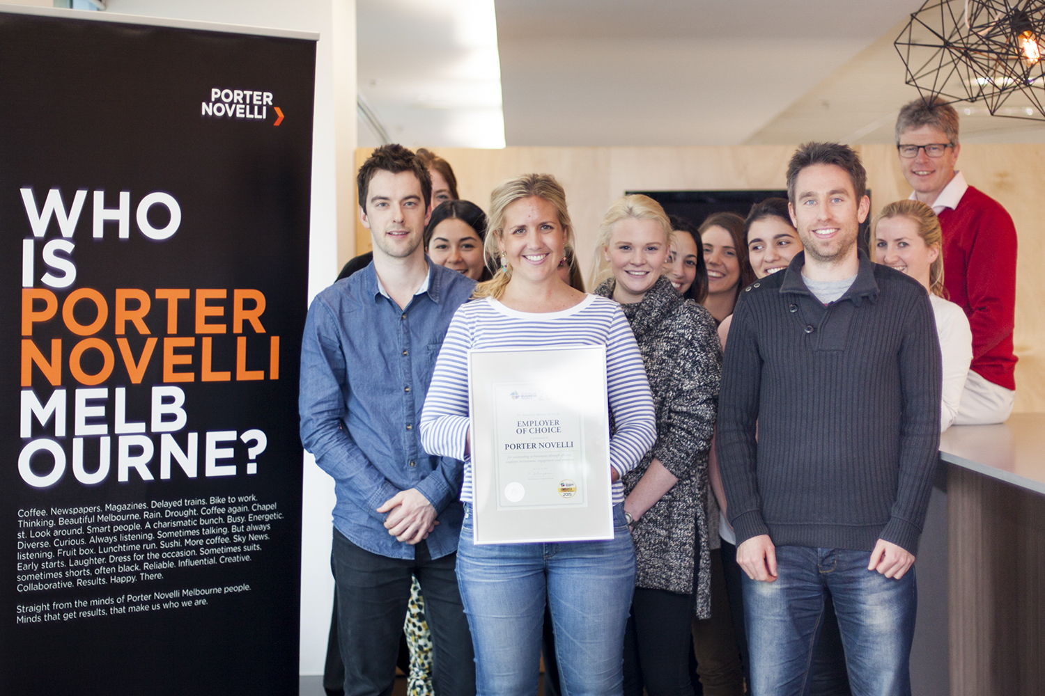 Porter Novelli Doubles Up As Employer Of Choice