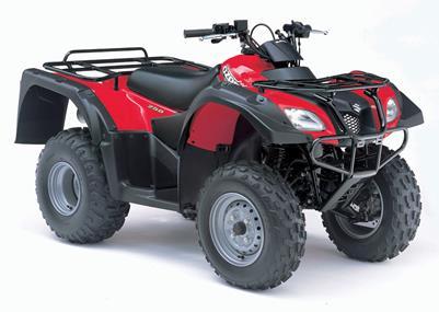 2006 Ozark 250 ATV