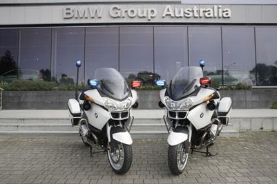 Police BMWs