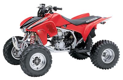 2008 Honda TRX450ER with Electric Start