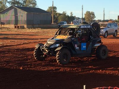 Wildcat Survives Finke Punishment.