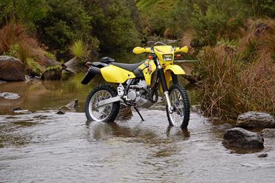 Suzuki DR-Z400E.