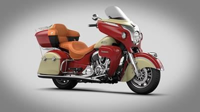 2016 Indian Motorcycles Roadmaster - red and cream