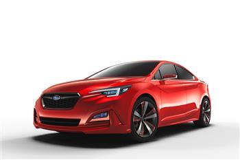 Impreza Sedan Concept Premieres In Los Angeles
