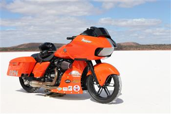 Harley-Davidson cracks pepper on salt racing plan