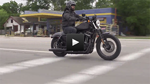 B-roll footage of the XL 883N Iron 883™...