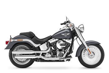 2016 Harley-Davidson Softail Fat Boy.