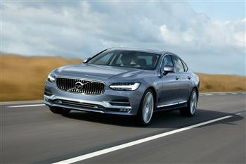 New Volvo S90 marks a giant step forward in prestige sedan segment