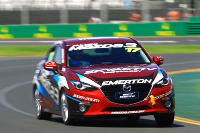 Socceroo Star Edges Out Cycling Great For Pole In The Mazda3 Celebrity Challenge