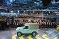 Celebrating The Legend: Last Of The Current Land Rover Defenders Is Built In Solihull