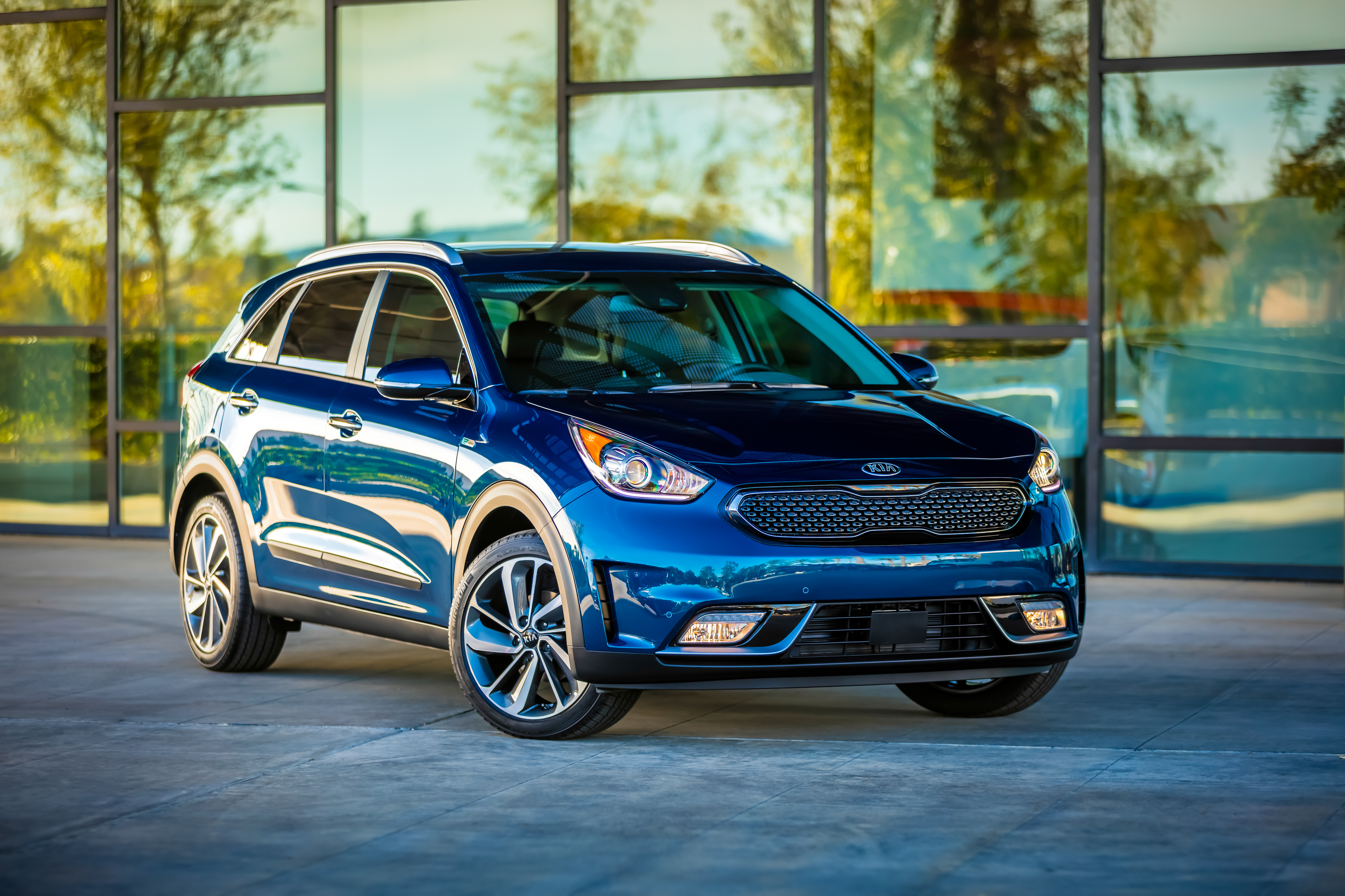 All-new 2017 Kia Niro Hybrid Utility Vehicle