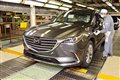 Production of brand-new Mazda CX-9 begins