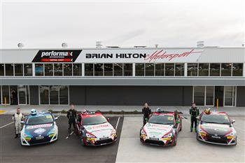 Brian Hilton Group Unveils Four Car Attack On Inaugural Toyota 86 Pro Am Racing Series