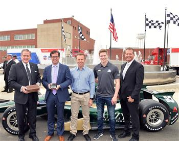 Allison Transmission and the Indianapolis Motor Speedway celebrate shared heritage.