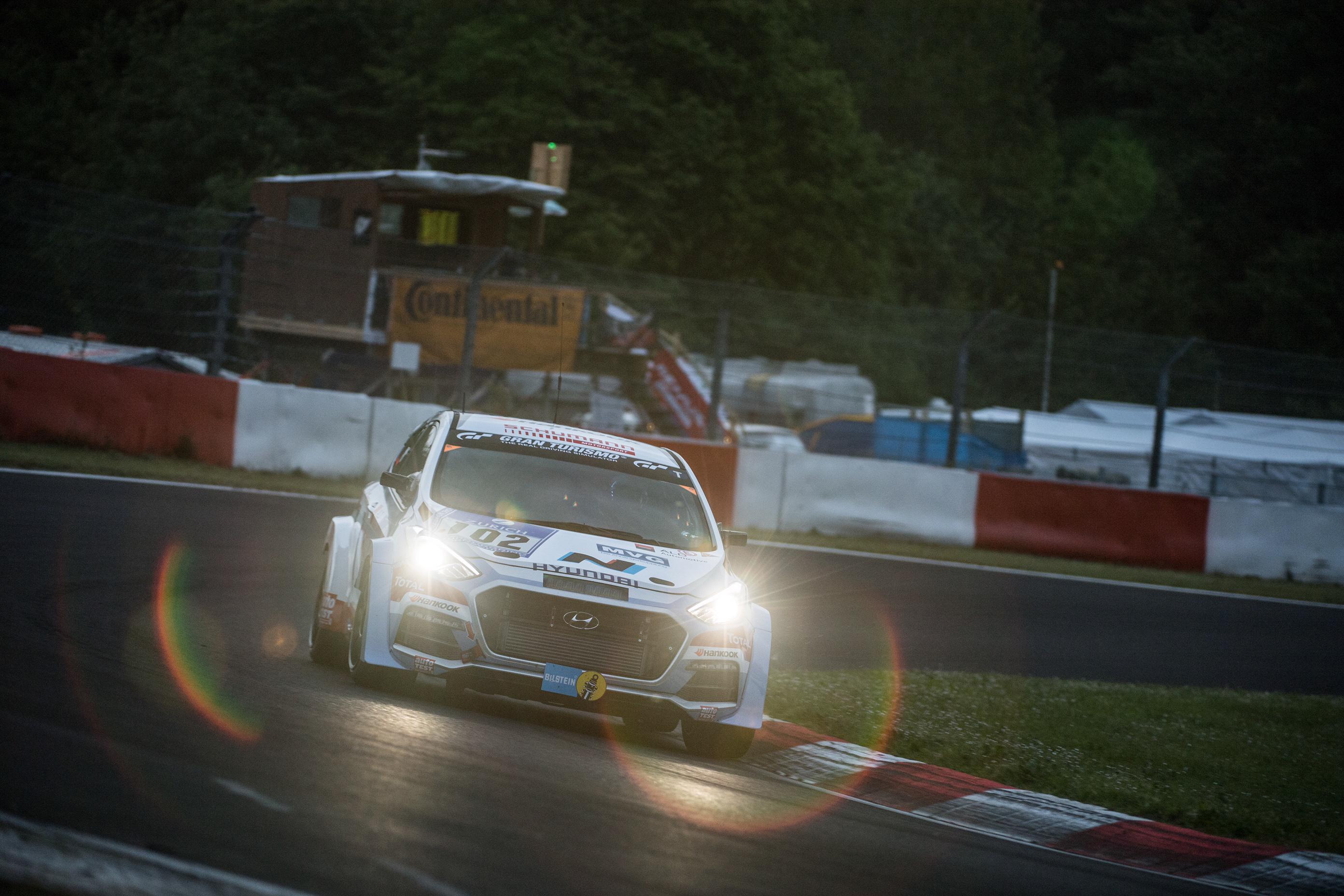 Hyundai i30 N 2.0L Turbo development car completes gruelling Nürburgring 24h Race
