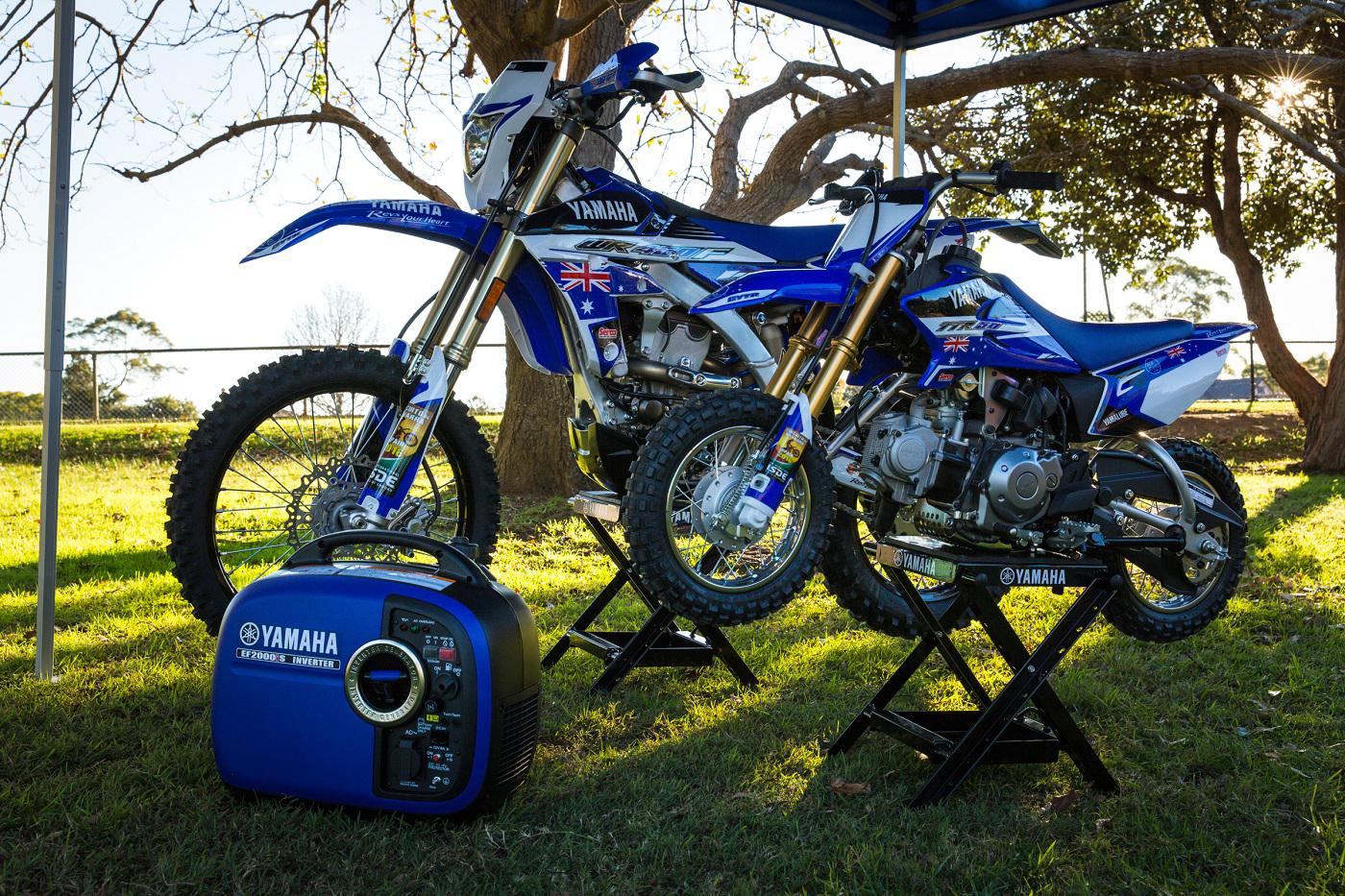 Yamaha Blu Cru Backs ISDE Team Fund Raiser