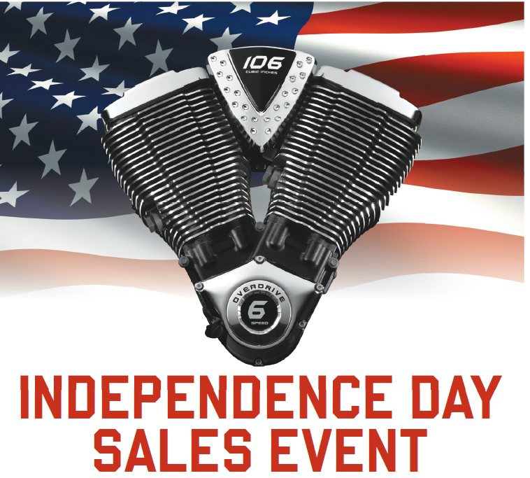Victory and Indian Motorcycle Independence Day Sale