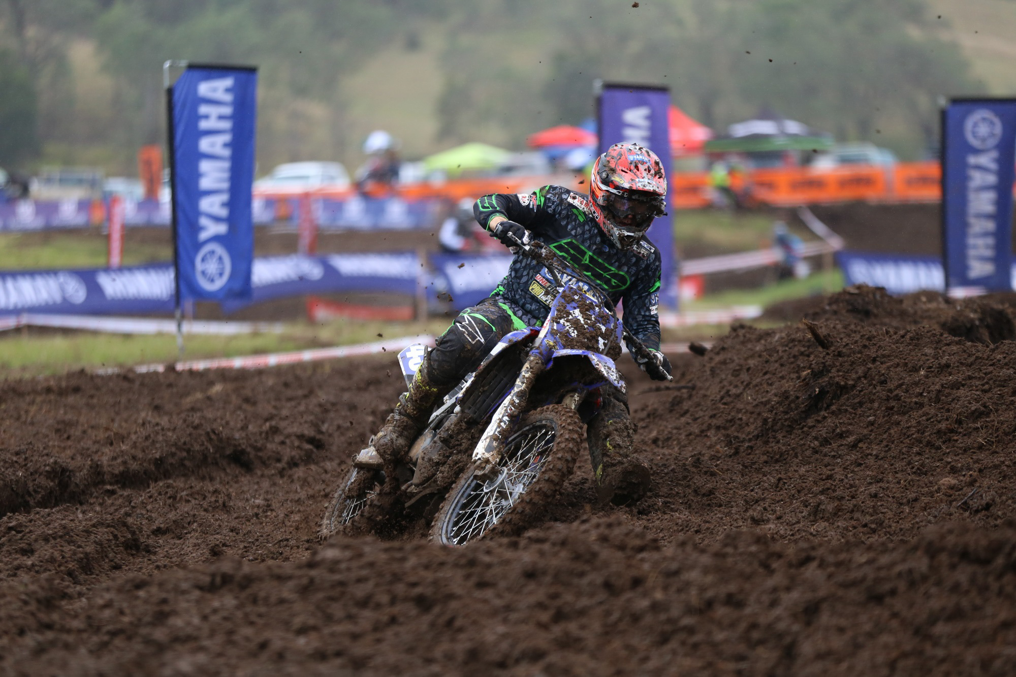 Evans and Hill Share Podium at Conondale MX Nats