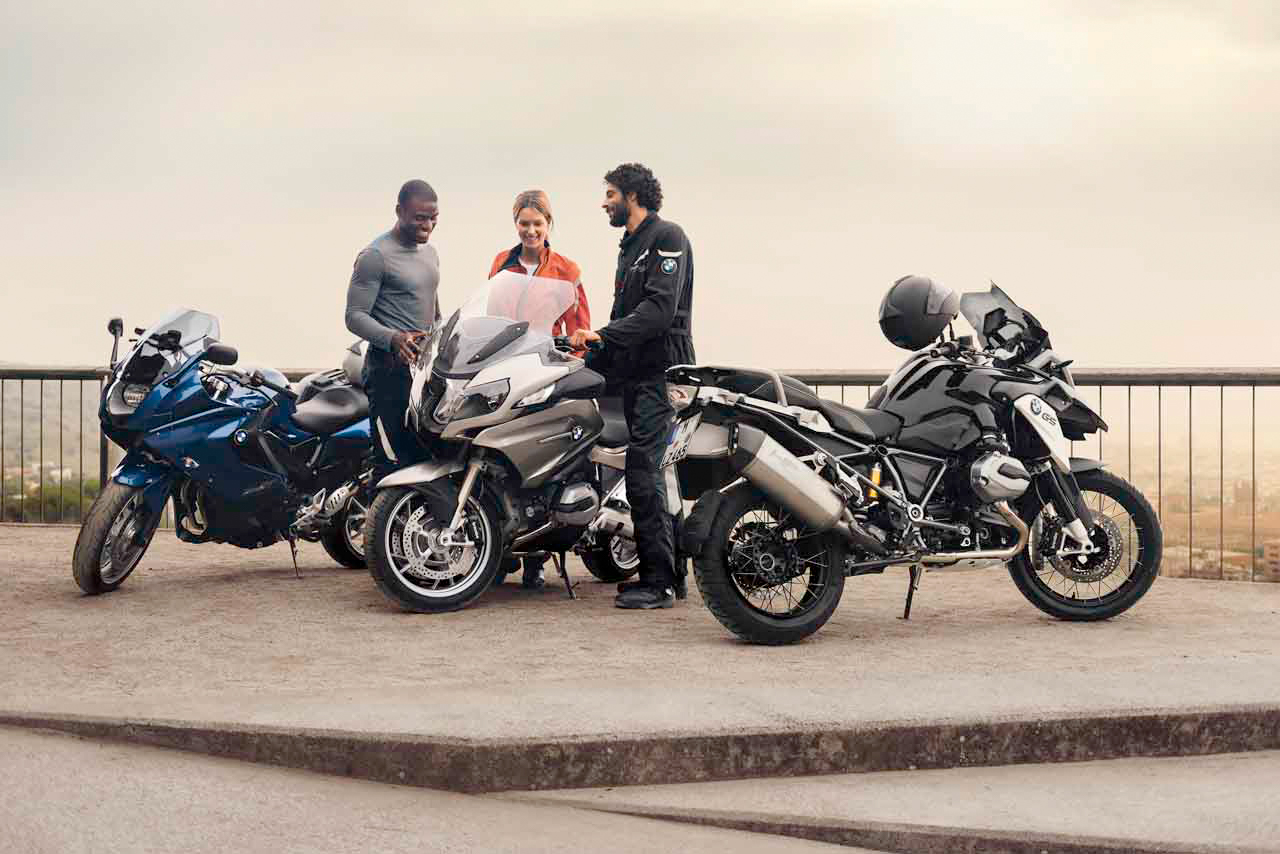 Extra year Warranty and Roadside Assistance during BMW Motorrad Ex-Demo sales event.