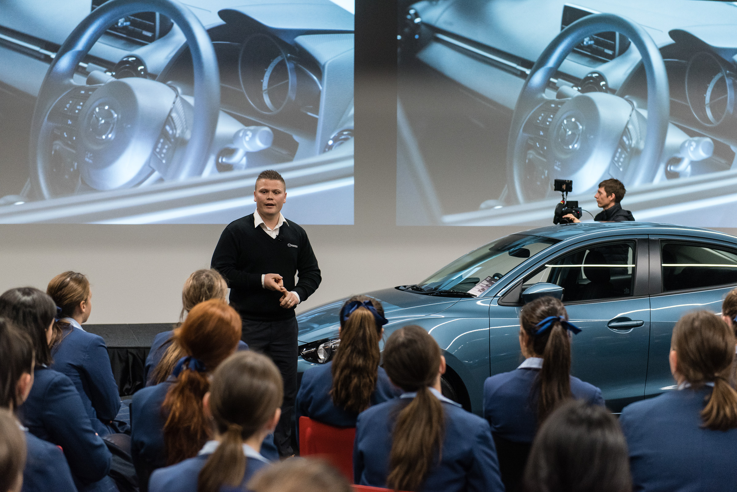 Mazda delivers auto training to first-ever school group