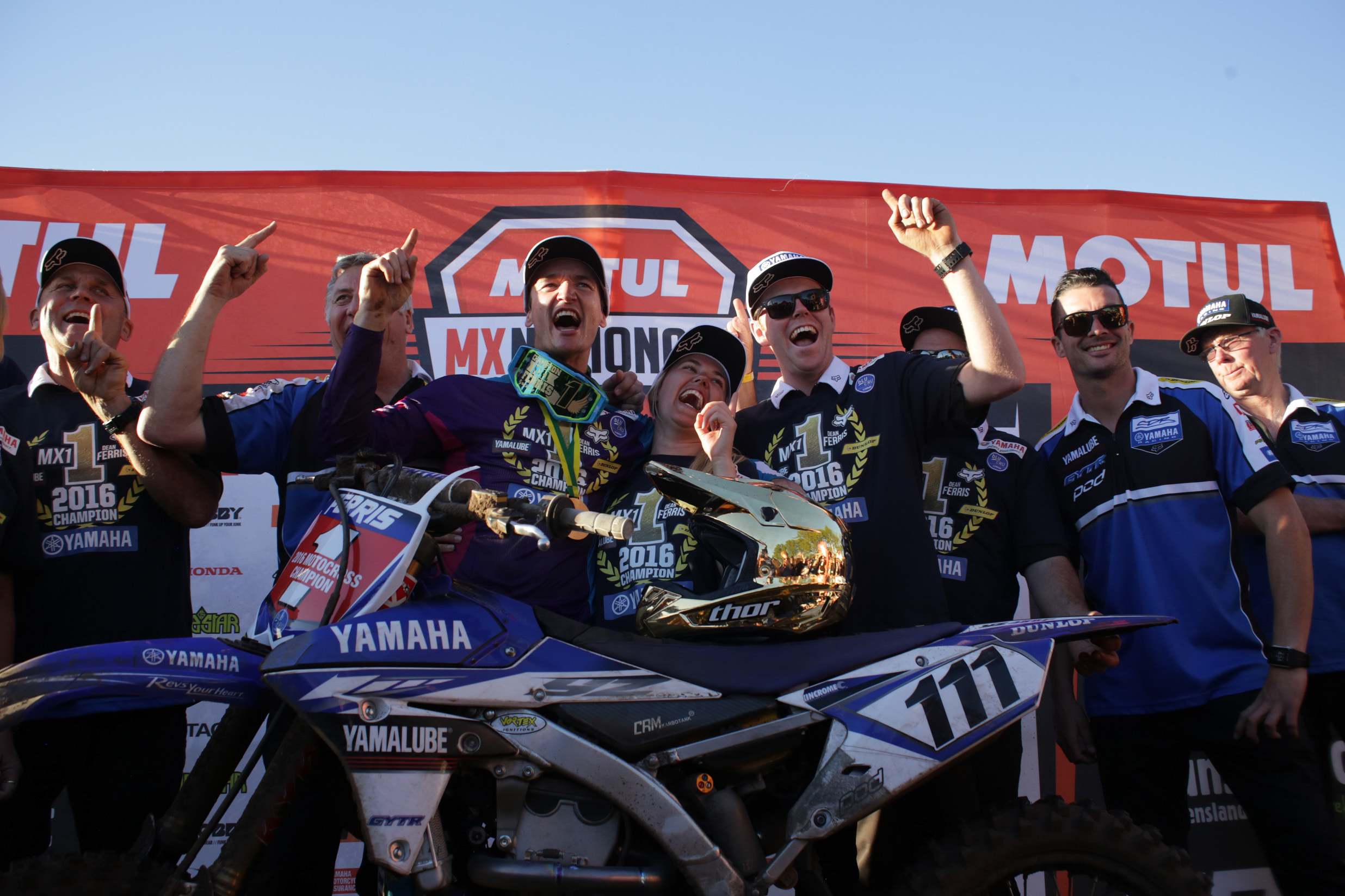 CDR Yamaha's Dean Ferris Wins MX Nats After Nail Biting Finale