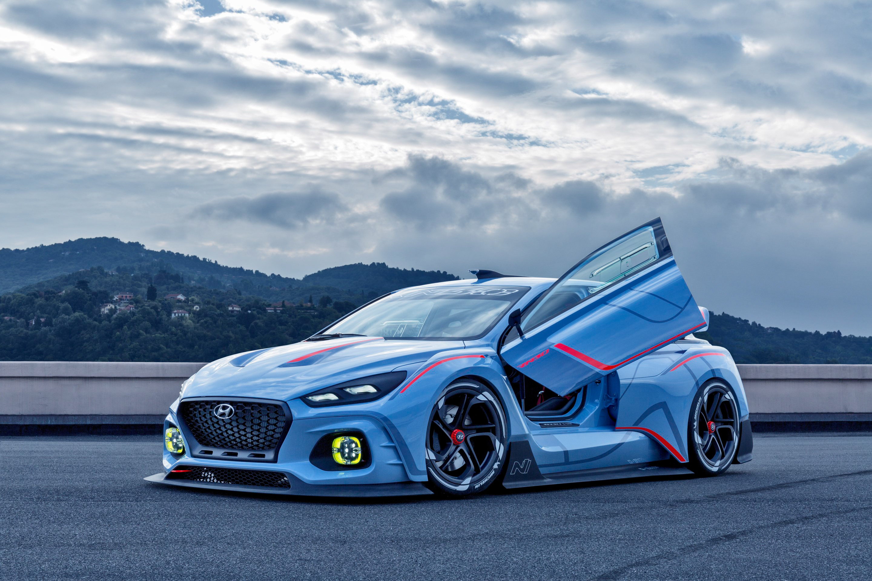 High-Performance Hyundai N Concept Revealed at Paris Motor Show