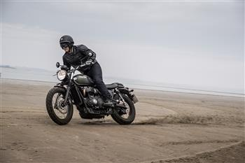 The all-new 2017 Triumph Street Scrambler