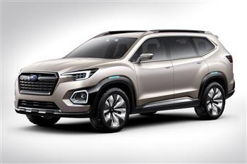 Subaru VIZIV-7 Concept Debuts In Los Angeles