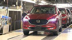 Mazda Motor Corporation has started production of the Next-Gen Mazda CX-5 medium sized SUV at Ujina Plant No...