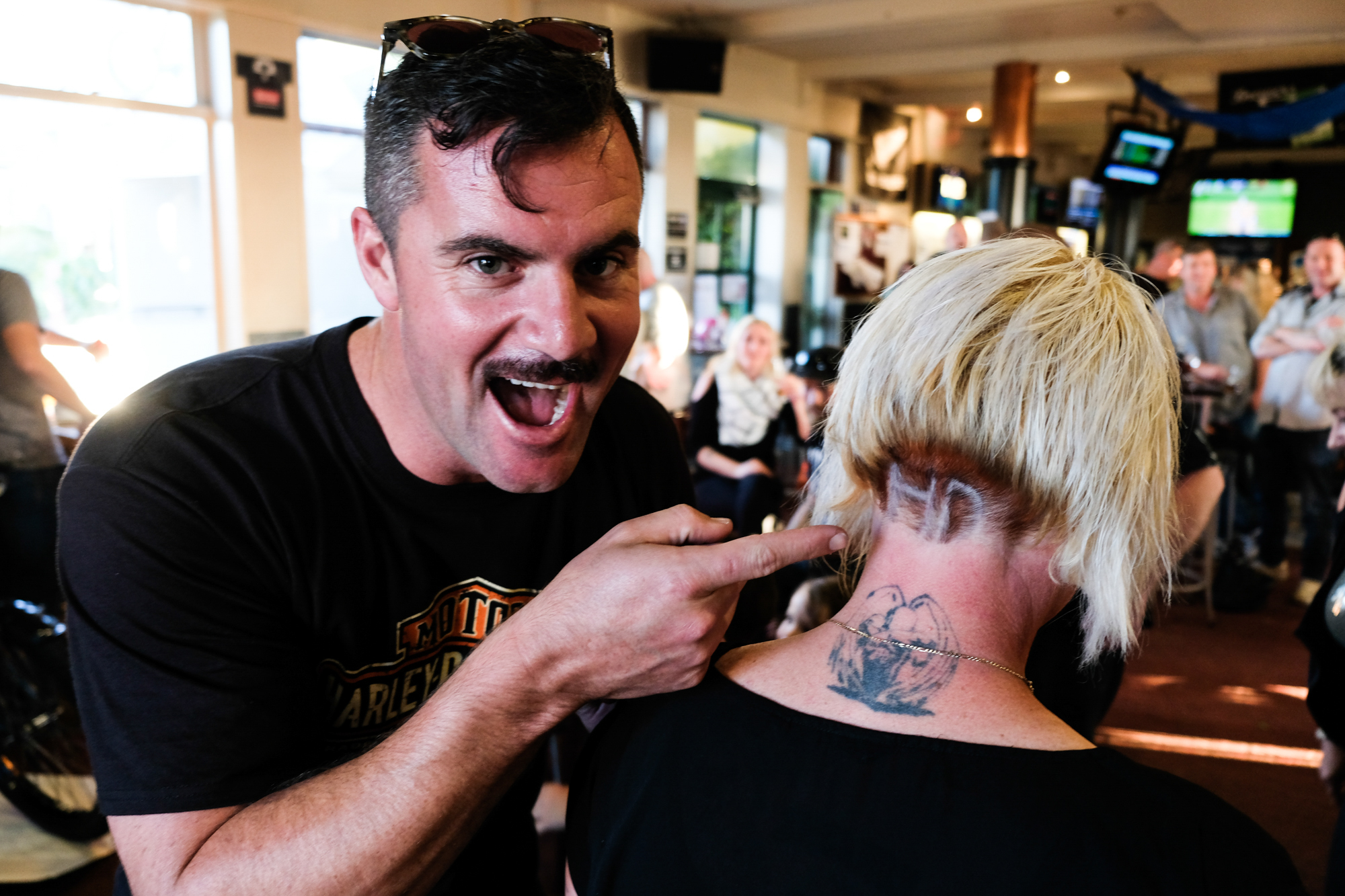 They Came, They Rode, They Conquered: Harley-Davidson Raise $10,000 For Movember