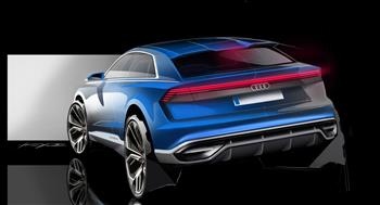 Audi unveils the Q8 concept - at the 2017 North American International Auto Show (NAIAS)