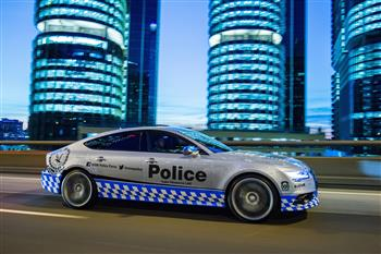 Audi S7 Sportback commences duty for the NSW Police Force