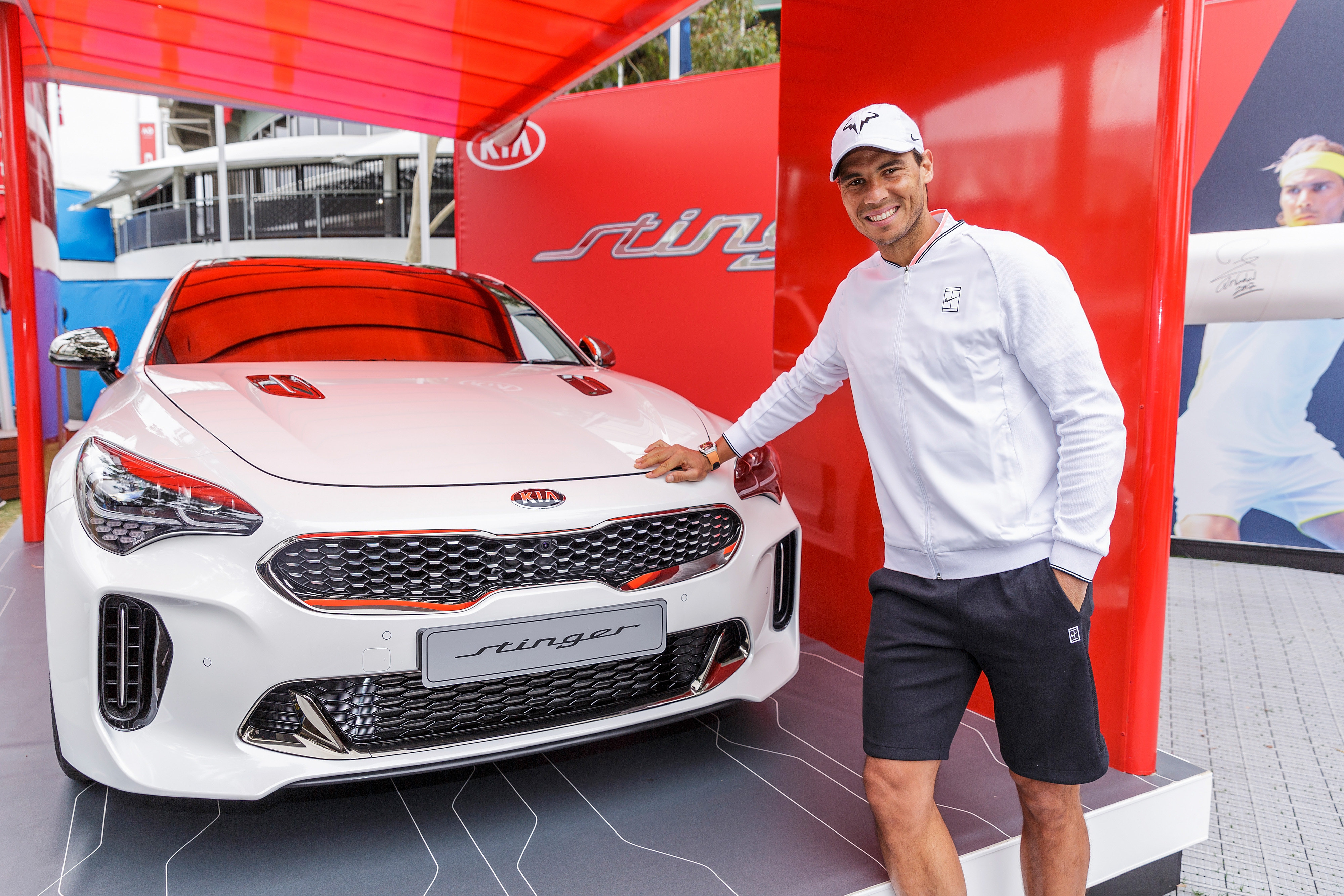 Kia aces comfort and safety at the Australian Open