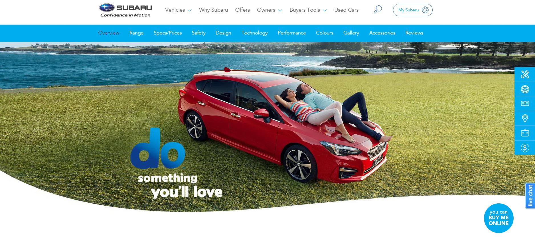 Subaru Reinvents 'Build And Buy' Online