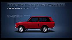 Two minutes is not long, but it's enough time for Land Rover to celebrate a motoring icon...