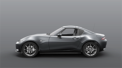 2017 Mazda MX-5 RF Technical roof movement animation.