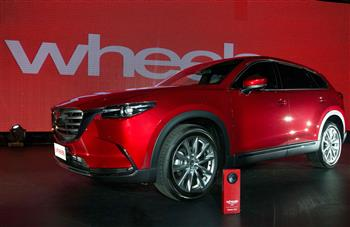 Brand-New Mazda CX-9 wins Wheels Car of the Year