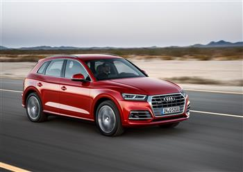 2017 Audi Q5 awarded a five-star Euro NCAP rating