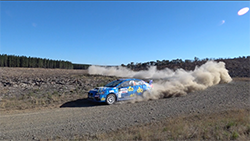 <p>Time problems arose for Subaru do Motorsport's Production Rally Car (PRC) class All-Wheel Drive WRX STI on the day's equal shortest stage, SS3 Blackwood Ridge, when Molly Taylor and Bill Hayes got held up behind the struggling WRX STI of Brad Markovic.</p> <p>Due to the dust, Markovic was unable to see Taylor and Hayes immediately behind – and unaware of their presence - costing the Subaru factory team valuable time.</p> <p>But the real challenge for Subaru do arose on SS4, with front differential vibration indicating a possible gearbox issue, dropping them to 14th on stage and fifth overall...