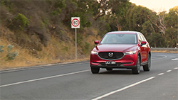 Next-Gen Mazda CX-5 country B-roll.