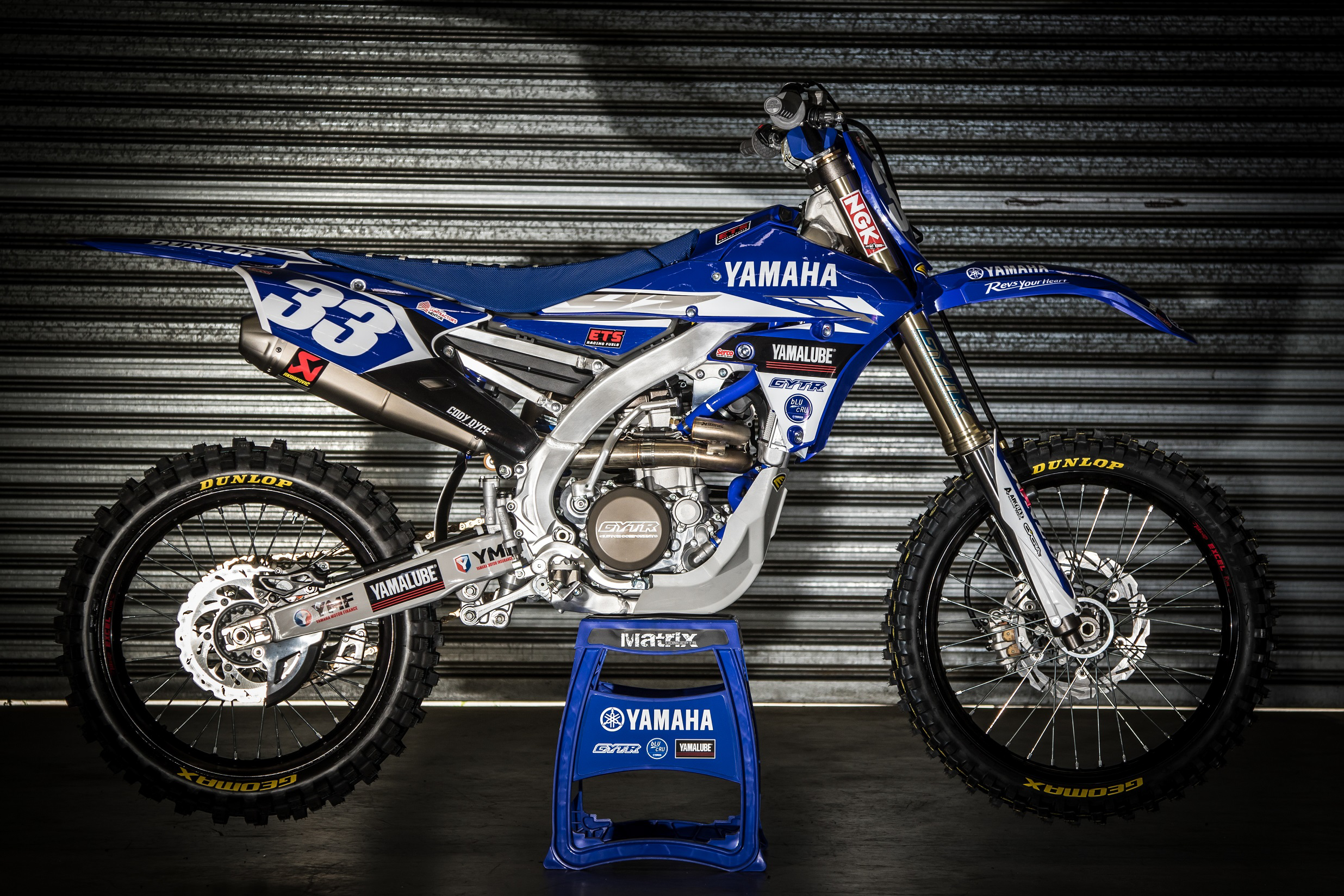 Cody Dyce YZ250F for 2017
