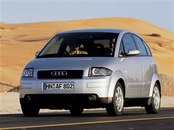 2002 Audi A2 – The World's First All-Aluminium Production Car Debuts in Australia