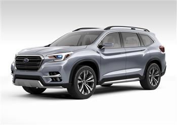 Subaru In The Ascent In New York