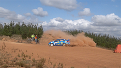 Molly Taylor and co-driver Bill Hayes used the ultra-reliability of the Les Walkden Rallying-prepared WRX STI to advantage, bagging maximum points, to provisionally elevate the team to second spot in the championship after two rounds.