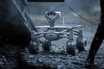 Audi's latest concept takes flight to the Moon
