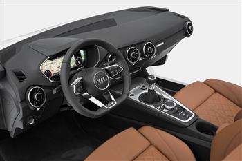 Audi Presents the New TT interior at the CES