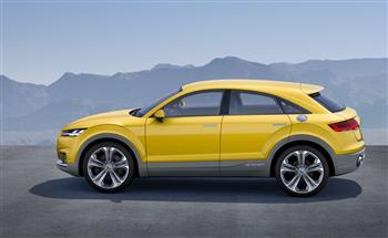 2014 Audi TT Offroad Concept Show Car