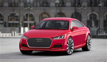 The sportiness of the Audi TT redesigned: The Audi TT Sportback concept show car