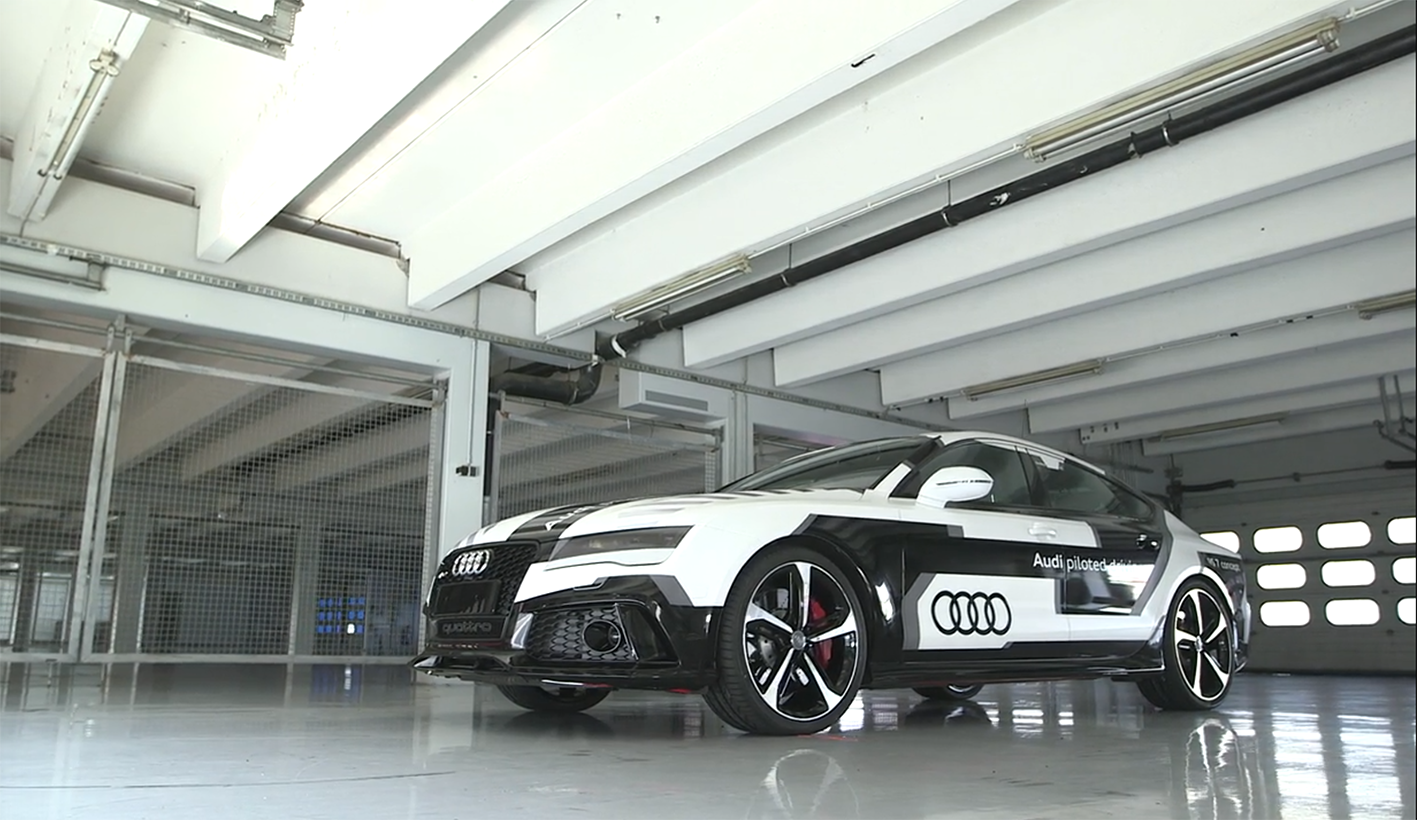 Audi is bringing the world's sportiest piloted driving car to the starting line...